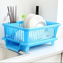 3 In 1 MULTIFUNCTION DISH RACK DRAINER WITH TRAY