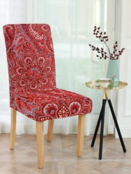 Cortina Spandex Elastic Chair Cover Stretch Removable Washable (1 Pc...