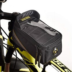 Golden Riders- Bicycle Front Frame/Tube Bag For Mobile Phone.