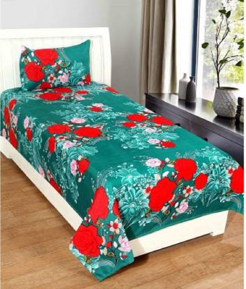 KS21-Homes-3d-Single--with-one-pillow-cover,-Turquoise