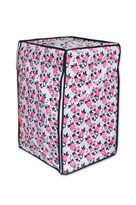 A.N. Decor Front Load Washing Machine Cover- Pink Flowers