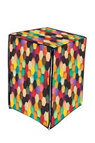 A.N. Decor Front Load Washing Machine Cover- Multicolour