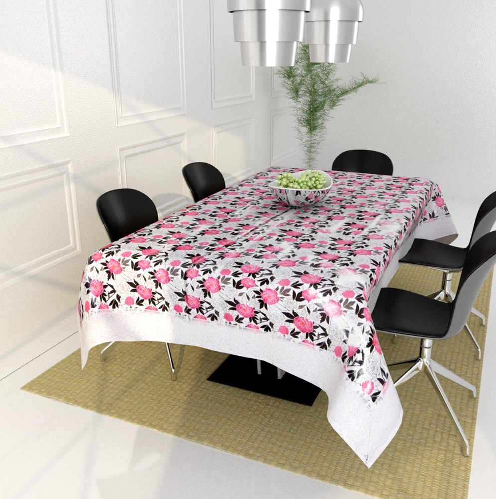 Dining-Table-Cover-Size---40*60-Inches-,Multicolor-Printed-cover-PVC-material