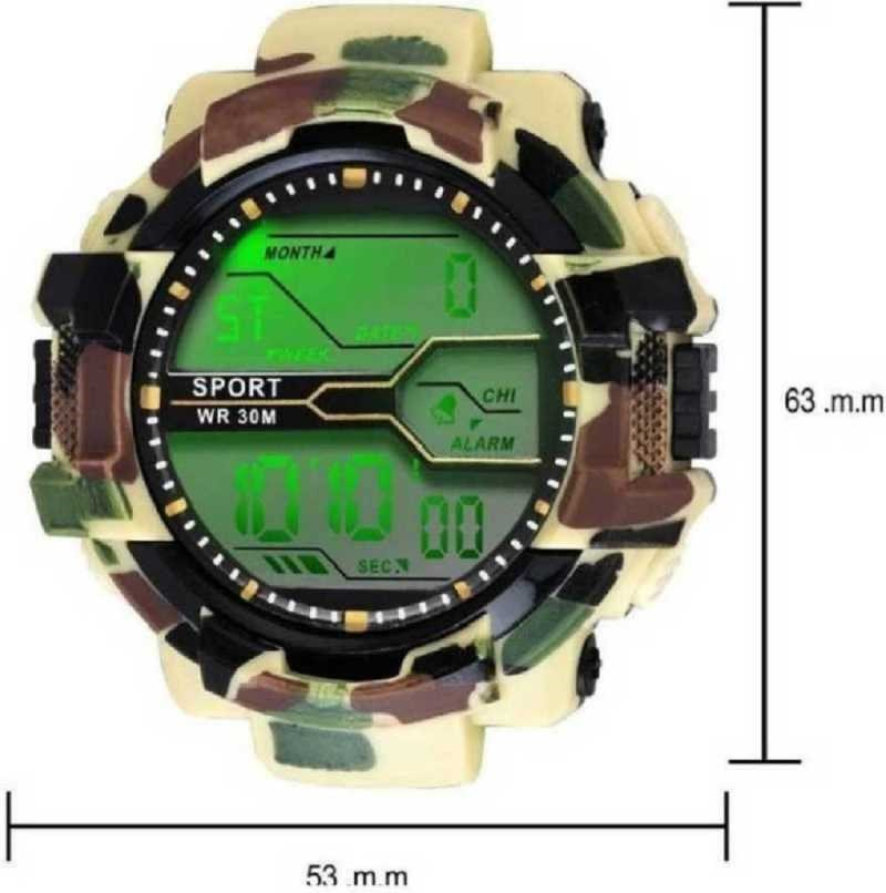 Abx1017-Gents-Beige-Solitary-Camouflage-Pattern-NEW-GENERATION-DIGITAL-NEW-DIGITAL-LED-SPORTS-Digital-smart-Watch-Unique-Arrow-New-Arrival-Silicon-Strap-(S-SHOCK)-(G90)-DIGITAL-STYLISH-WATCHES-FOR-KIDS-Digital-Watch---For-Men-New-Latest-Red-LED-Illuminated-Display-LED,Digital-Black-Digital-Watch-Digital-Watch-Digital-Watch---For-Men