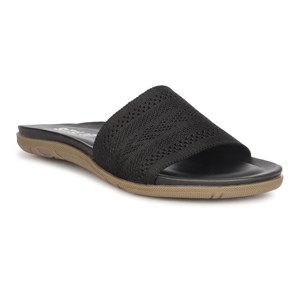 SiTsLoP-M-01-Black-Comfortable-Women-Slipper