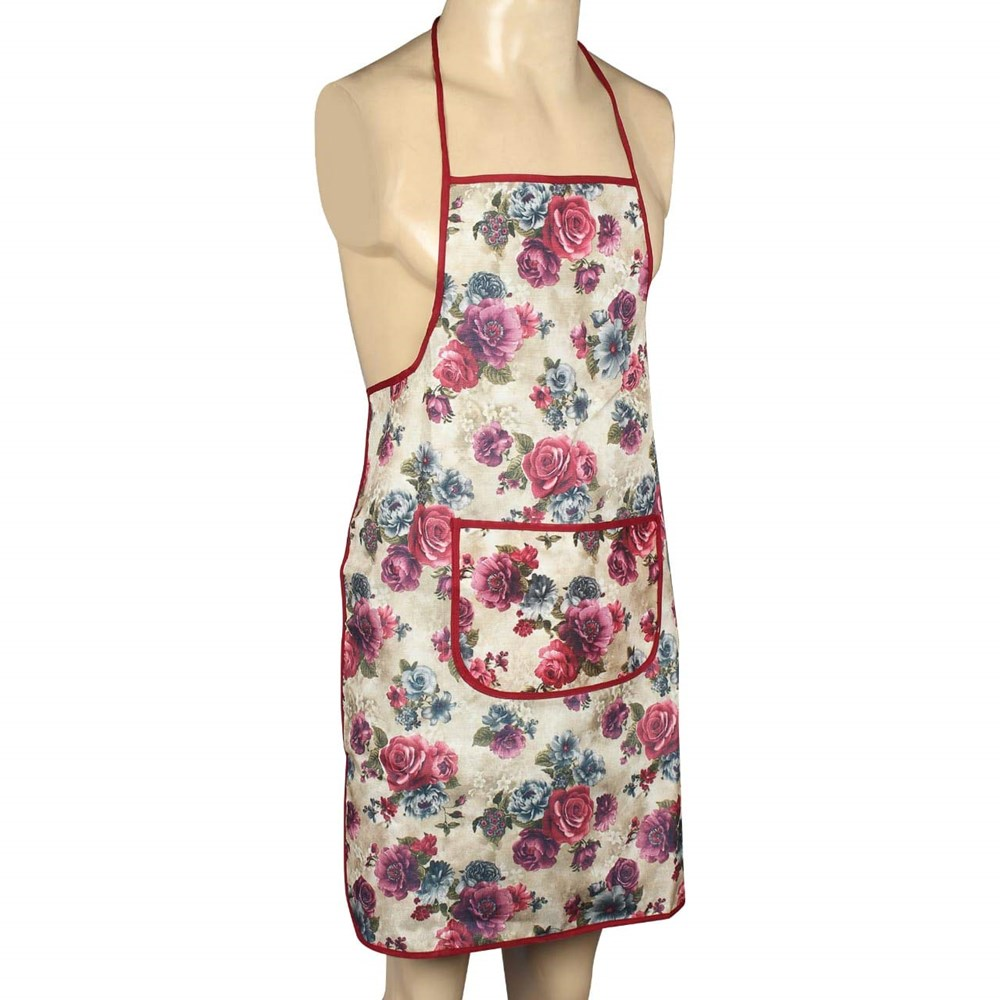 Winner-Waterproof-Multi-Color-Free-Size-Kitchen-Apron-with-Front-Pocket-Pack-of-1