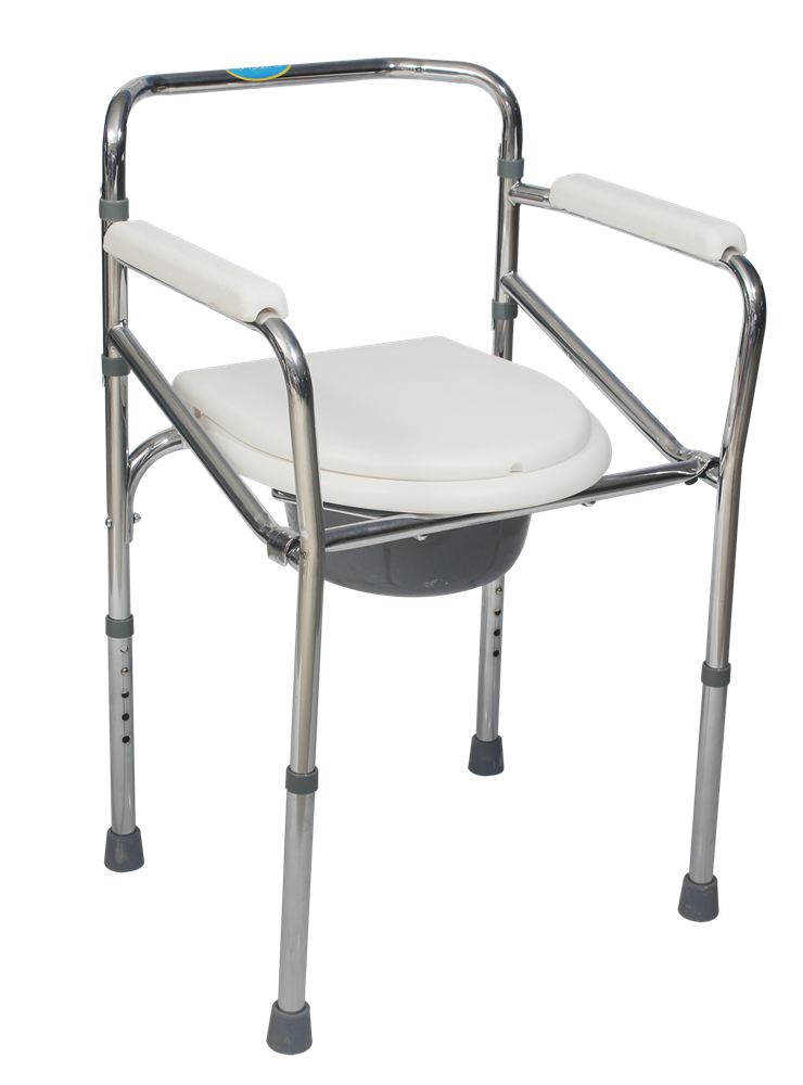 Smartcare-Steel-Commode-Chair