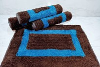 Fresh zone Rectangular Door Mat- 4 pc door mat(16x24 inch)