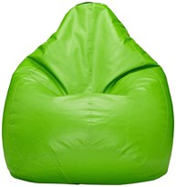 Green Color Aarij Mart Bean Bag Cover