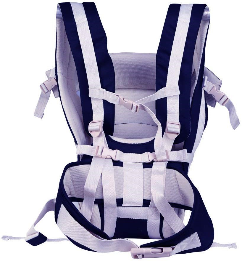 Adjustable-Hands-Free-4-In-1-Ployester-Baby-Carrier-Sling-With-Carrying-Capacity