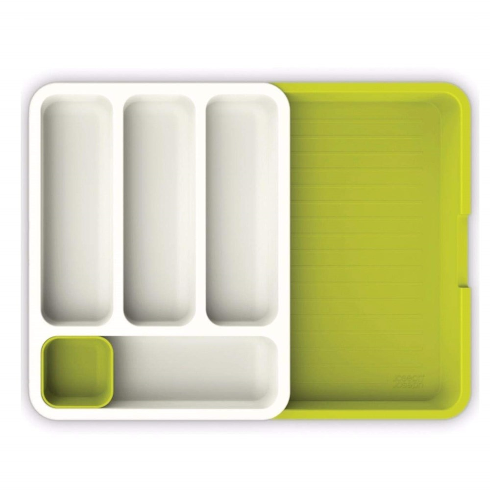 GTC-DRAWER-ORGANIZER|-KITCHEN-DRAWER-TRAY-FOR-SILVERWARE|-GREEN
