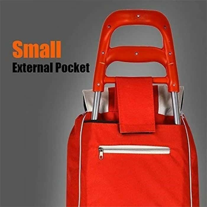 GTC-SHOPPING-TROLLEY-WITH-DETACHABLE-BAG RED-(HK)