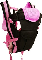 GTC 4 in 1 ADJUSTABLE BABY CARRIER BAG| BREATHABLE BABY CARRIER BAG| Pink