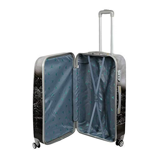 POLYCARBONATE-PRINTED-TROLLEY-BAG-WITH-360°-ROTATING-WHEELS -SET-OF-3- -20,-24-&-28-INCHES