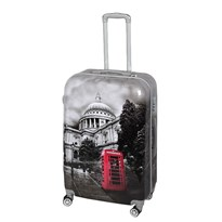 GTC POLY CARBONATE TROLLEY BAGm24g BLACKm24g28 INCHES