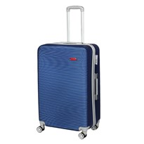 GTC ABS BLUE TRAVEL TROLLEY LUGGAGE BAG|24 Inch