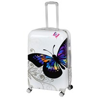 GTC POLY CARBONATE TROLLEY BAG| 28 INCHES