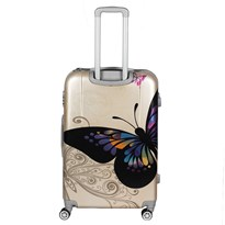 GTC POLY CARBONATE TRAVEL TROLLEY BAG|24 Inch