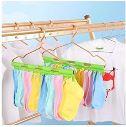 Premium Quality Drying Hanger   Pack Of 2   29 Removable Clips