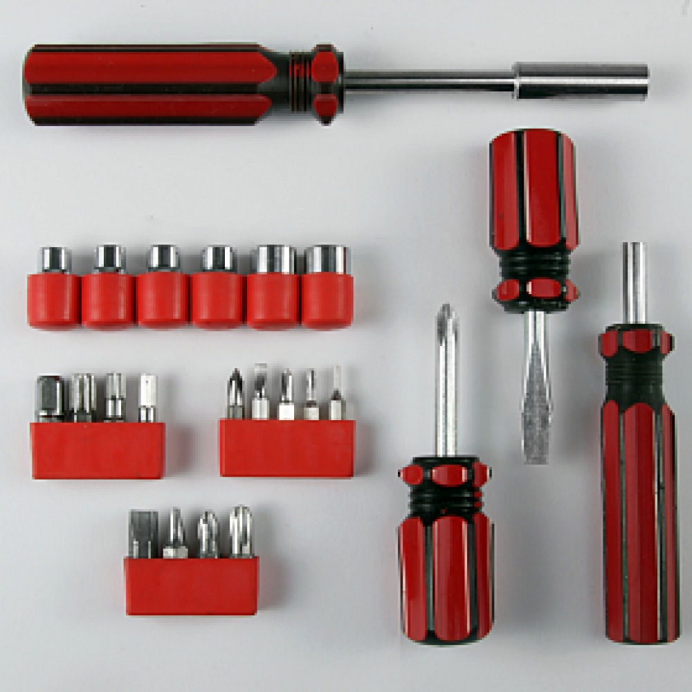 SCREWDRIVER-TOOL-SET-WITH-BITS- -23-PIECES