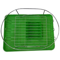 MULTIFUNCTION KITCHEN DISH RACK WITH WATER DRAINING TRAY