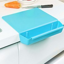 CHOPPING AND CUTTING BOARD WITH REMOVABLE BASKET m24g BLUE