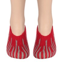 Handmade Woolen Socks (Women) KC Hand Knitted Socks (Tiger Style) #BEGINNING